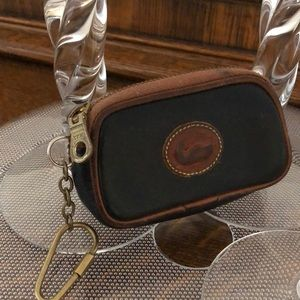Dooney & Burke Vintage Coin Purse Key Ring